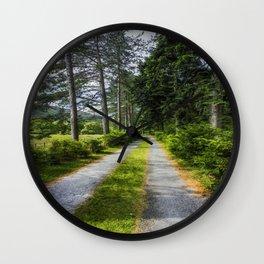 Country Path Walks Wall Clock