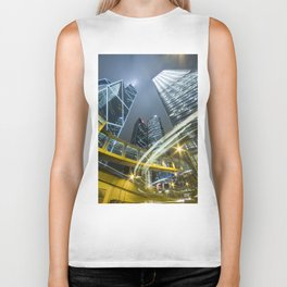 Hong Kong Night City Biker Tank