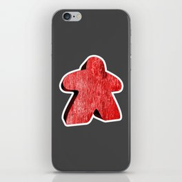 Giant Red Meeple iPhone Skin
