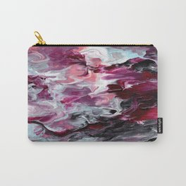 Raspberry Marble Carry-All Pouch
