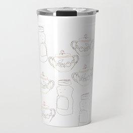 Honey bear and sugar bowl Travel Mug