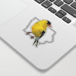 Iowa – American Goldfinch Sticker