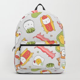 Cat food and succulent Backpack