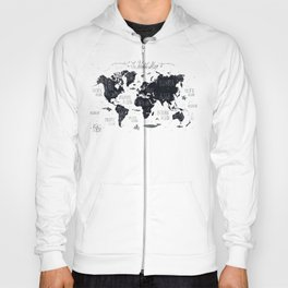 The World Map Hoody