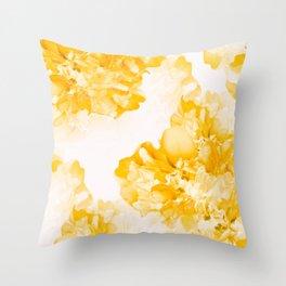 Beautiful Peony Flowers White Background #decor #society6 #buyart Throw Pillow