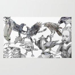 Crow Tea Rug