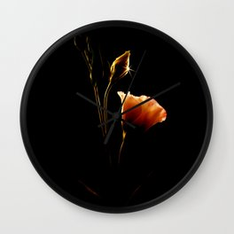 From Shadows To Light Wall Clock