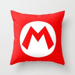 Nintendo Mario Throw Pillow