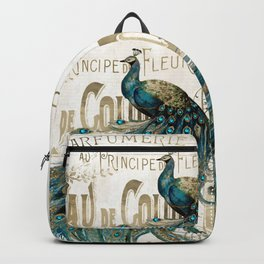 Peacock Jewels Backpack