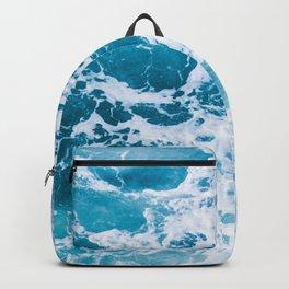 Perfect Ocean Sea Waves Backpack