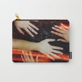 Cozmogonizm Series #23, Color Film, Analog, Art Photo, NUDE Carry-All Pouch