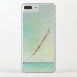 Carribean sea Clear iPhone Case