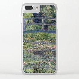 Monet Clear iPhone Case