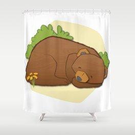 Sleeping Bear Shower Curtain