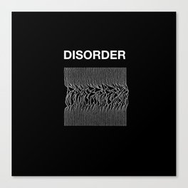 Disorder. A Joy Division/Peter Saville tribute. Canvas Print