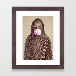 Big Chew Framed Art Print