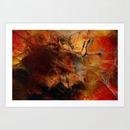 stratum Art Print