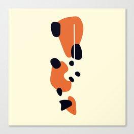 Kin Showa Koi Canvas Print