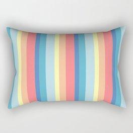 Coastal Stripes Rectangular Pillow