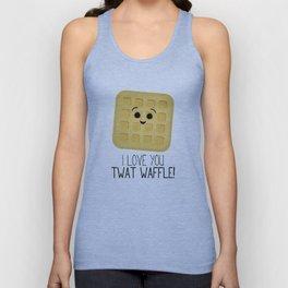 I Love You Twat Waffle Unisex Tank Top