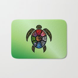 Bagua Turtle Bath Mat