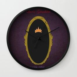 Queen Grimhilde | Villains do It Better Wall Clock