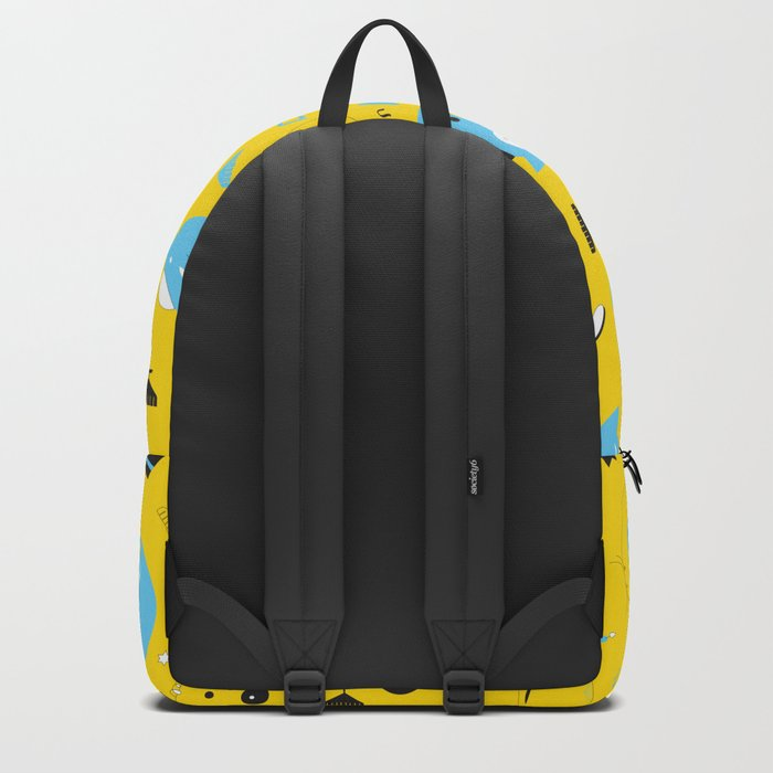 Hannukats Yellow Backpack