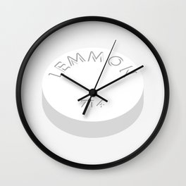 Lemmon 714 (Quaalude) - The Wolf of Wall Street Wall Clock