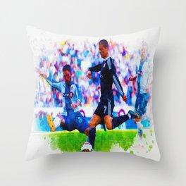 The Buzz from Cristiano Ronaldo Throw Pillow
