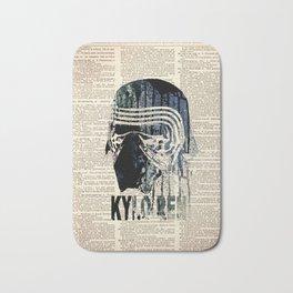 #WARS #KYLO REN ON DICTIONARY Bath Mat