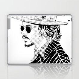 Johnny Depp with sun-glasses Laptop & iPad Skin
