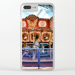 Carousel inside the Mall Clear iPhone Case