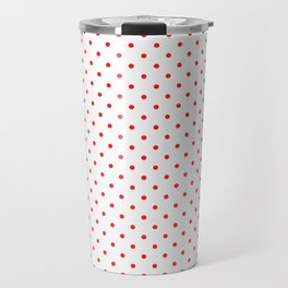 Red dots Travel Mug