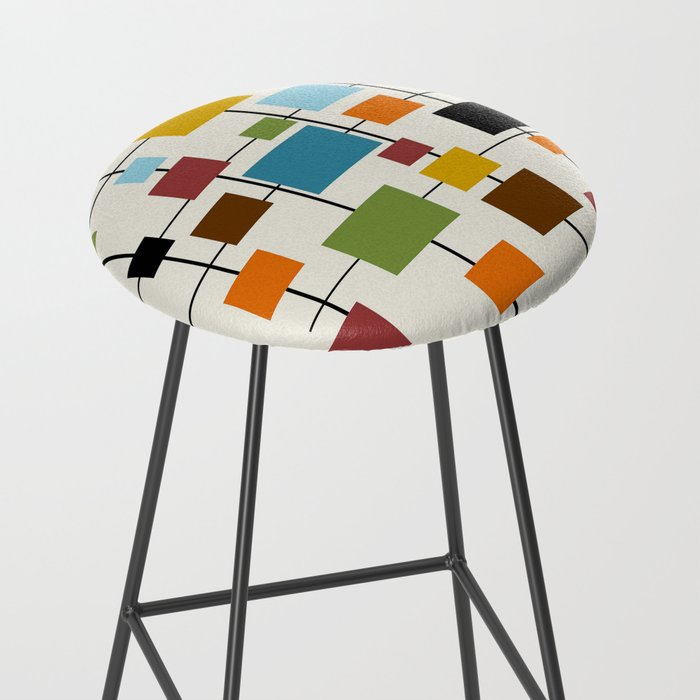 Mid-Century Modern Art 1.3 Bar Stool