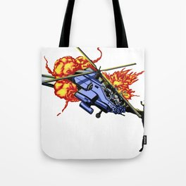 Bear vs. Apache Tote Bag