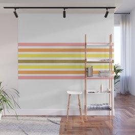 Lined in Pink Wall Mural
