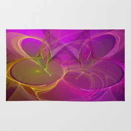 abstract lighteffects -3- Rug