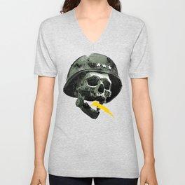 General's Skull Unisex V-Neck