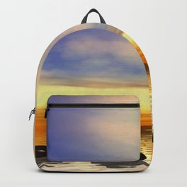 Zen Steine Backpack
