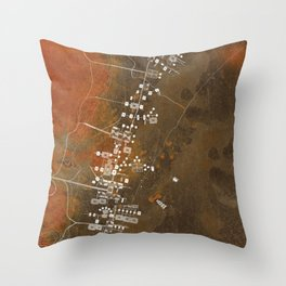 The Plan Throw Pillow