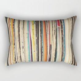 Record Collection Rectangular Pillow