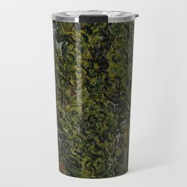Cypresses and Two Women Travel Mug