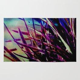 Crystallize-photo montage Rug