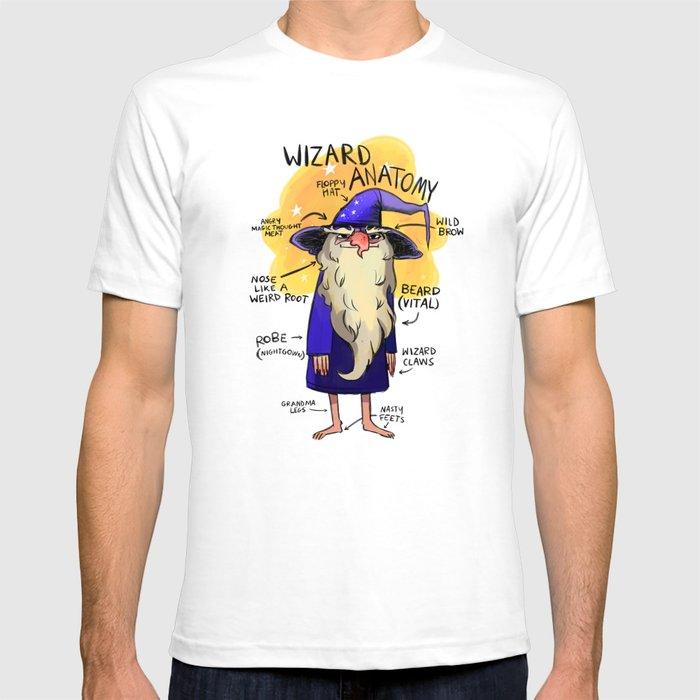 Wizard Anatomy T Shirt By Alizabug Society6