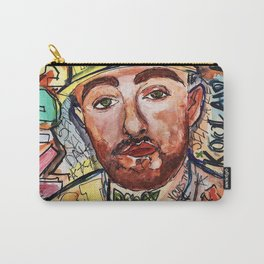 mac miller,rip,kids,drawing,painting,sketch,colourful,colorful,lyrics,rap,hiphop,art,poster,fan Carry-All Pouch