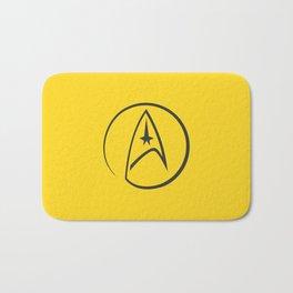 Heathen Trekkie - StarTrek 's Kirk Yellow Bath Mat