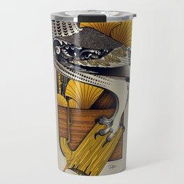 Stylish Owl Travel Mug