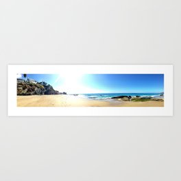 West Coast Summer Art Print
