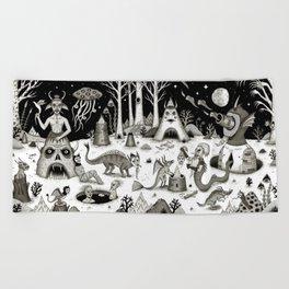 A Grim Hereafter Beach Towel
