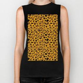 Cheetah skin pattern design Biker Tank